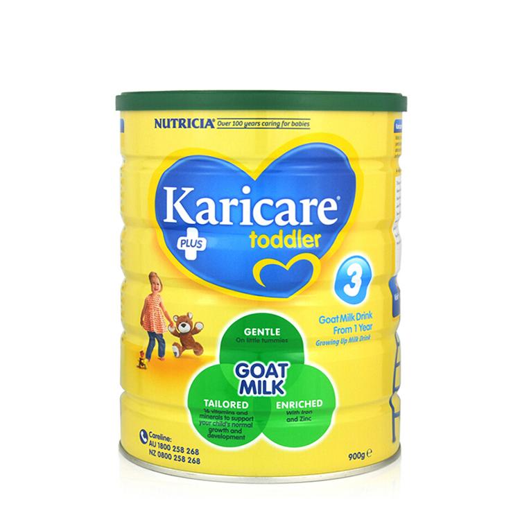 澳洲可瑞康婴幼儿羊亚博娱乐手机app官网Karicare  3段(1-3岁)900g/罐