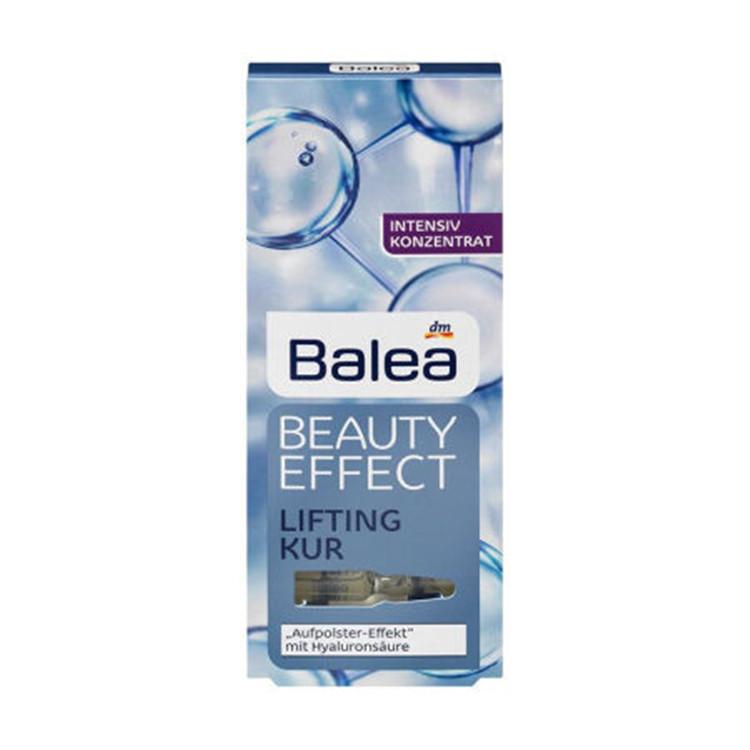 德国Balea芭乐雅玻尿酸提拉紧致保湿浓缩精华7天急救安瓶蓝色 7*1ml