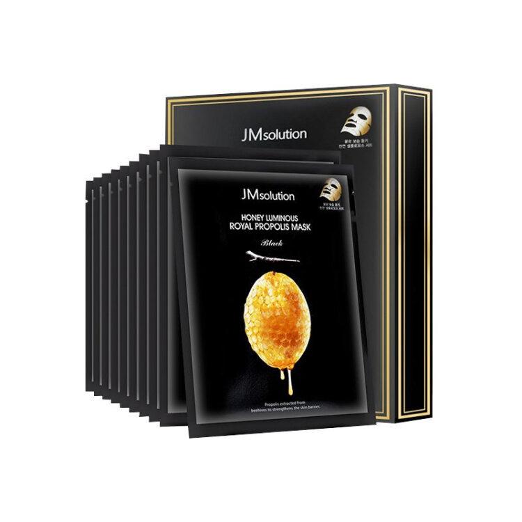 韩国 JM solution水光蜂蜜面膜贴蜂胶水润滋养透莹清透面膜10片