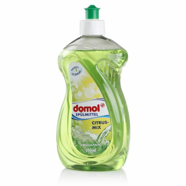 德国domol柑橘混合浓缩洗碗洗涤灵洗洁精500ML孕妇幼儿用