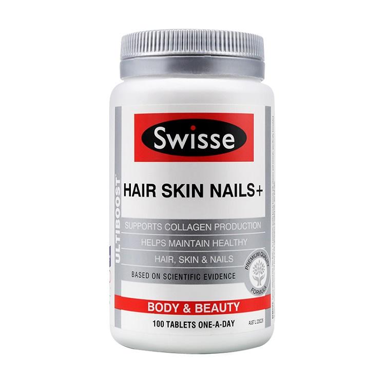 澳大利亚Swisse皮肤头发保养胶原蛋白片100粒