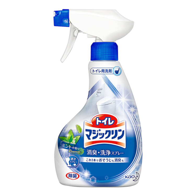 KAO 花王 洁厕喷雾剂 马桶除臭清洁液 浴室清洁剂  原装进口 400ml #薄荷香