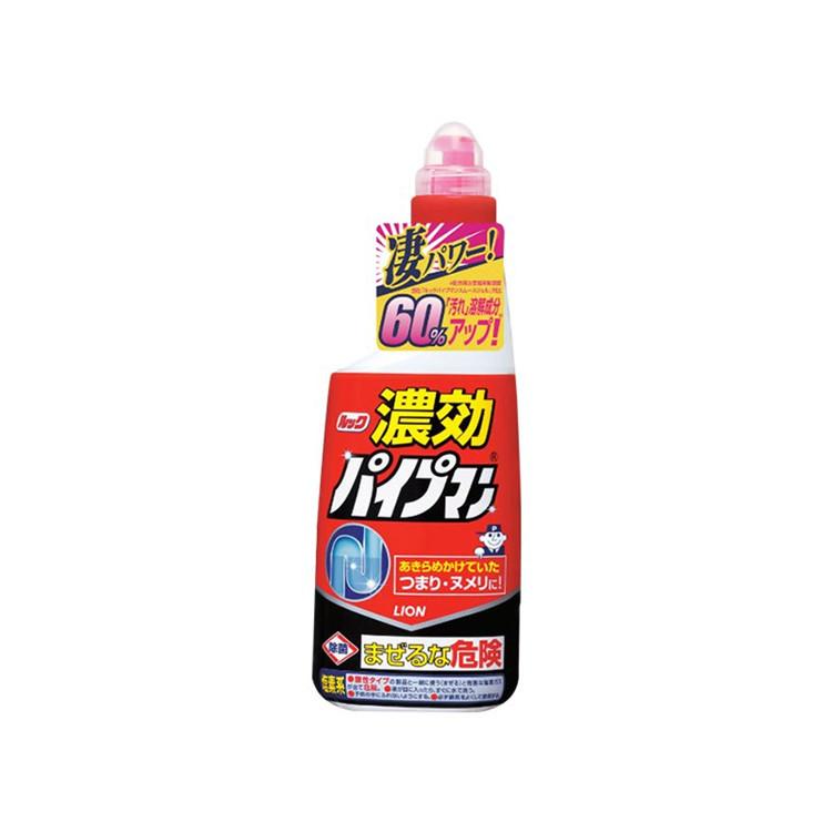 Lion  狮王  LOOK管道疏通剂(浓缩啫喱型)  卫生间厨房下水道通用   450ml