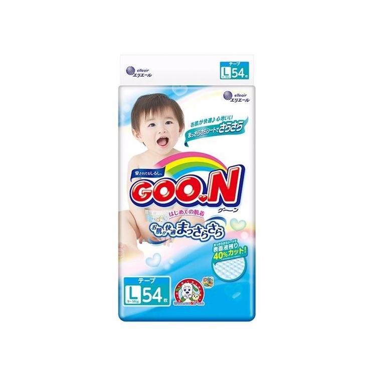 GOO.N 大王 L 54片纸尿裤/尿不湿 干爽维E