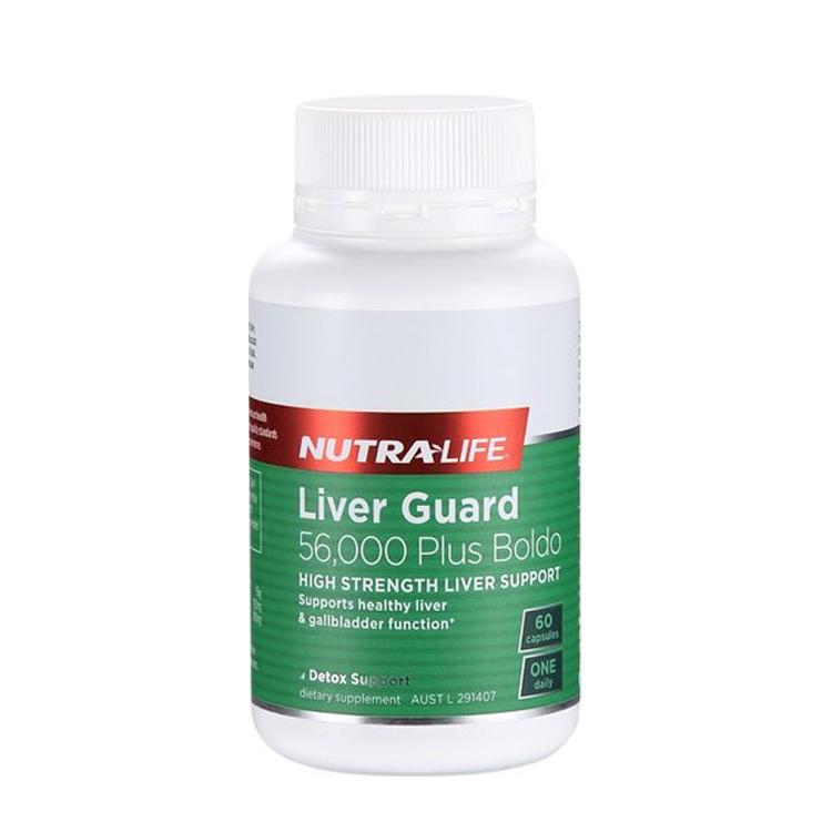 新西兰 Nutra-Life/纽乐 护肝宝56000加波尔多叶 60粒