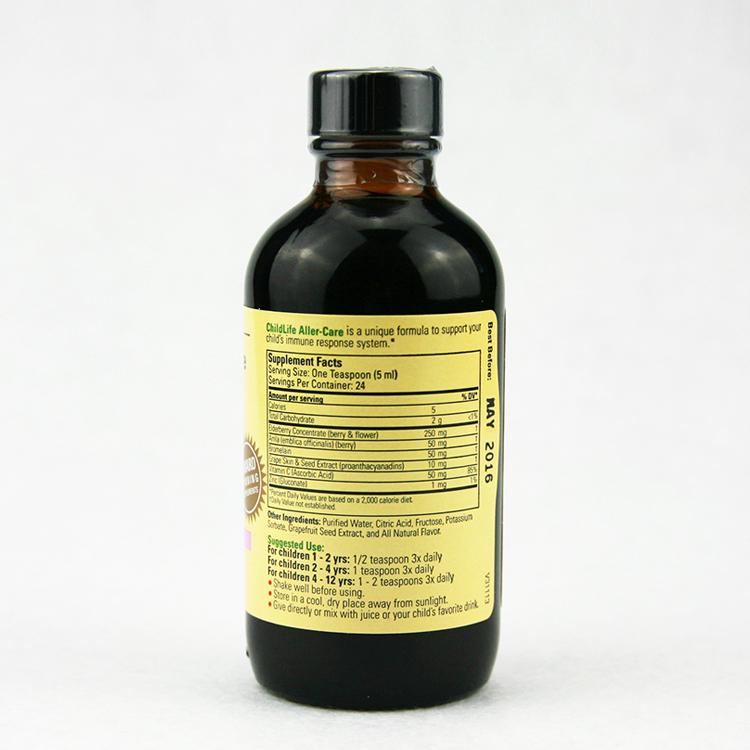 美国 Childlife/童年时光 儿童葡萄大侠敏护营养液 118.5ml